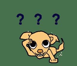 Chihua-tan of chihuahua sticker #7089573
