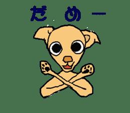 Chihua-tan of chihuahua sticker #7089584