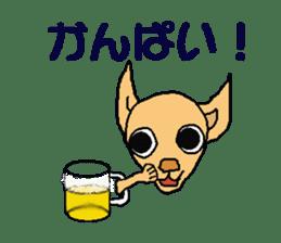 Chihua-tan of chihuahua sticker #7089591