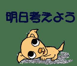 Chihua-tan of chihuahua sticker #7089595