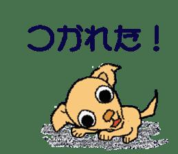 Chihua-tan of chihuahua sticker #7089599