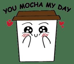 Koffie sticker #7090499