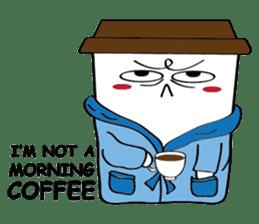 Koffie sticker #7090501