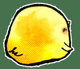 Cute have, chick. 2. sticker #7090617