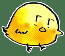 Cute have, chick. 2. sticker #7090632