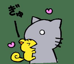 cat&squirrel sticker #7091966