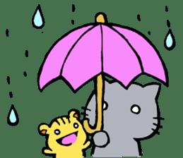 cat&squirrel sticker #7091978