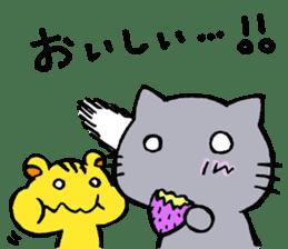 cat&squirrel sticker #7091983