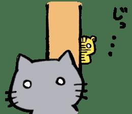 cat&squirrel sticker #7091987