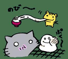 cat&squirrel sticker #7091988