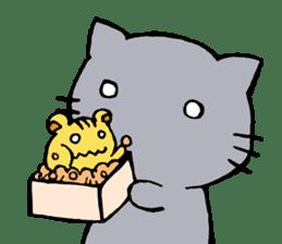 cat&squirrel sticker #7091990