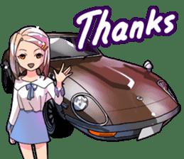 AutomobileVol.3(English) sticker #7092508