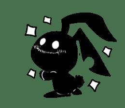 Shadow rabbit(3) sticker #7093024