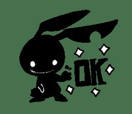 Shadow rabbit(3) sticker #7093025
