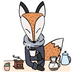 Kitsune the Slow Life Fox