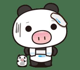 Pig Bunny Baby & Pig Bear III(True love) sticker #7094607