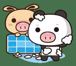 Pig Bunny Baby & Pig Bear III(True love) sticker #7094609