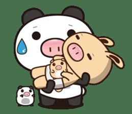 Pig Bunny Baby & Pig Bear III(True love) sticker #7094619