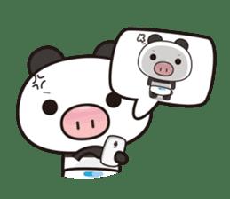Pig Bunny Baby & Pig Bear III(True love) sticker #7094621