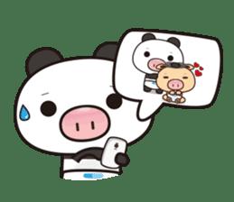 Pig Bunny Baby & Pig Bear III(True love) sticker #7094623