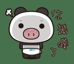 Pig Bunny Baby & Pig Bear III(True love) sticker #7094624