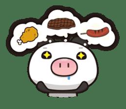 Pig Bunny Baby & Pig Bear III(True love) sticker #7094629