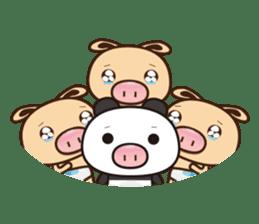 Pig Bunny Baby & Pig Bear III(True love) sticker #7094635