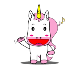 Unicorn is always single minded person. sticker #7095961