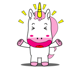 Unicorn is always single minded person. sticker #7095973
