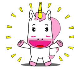 Unicorn is always single minded person. sticker #7095976