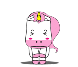 Unicorn is always single minded person. sticker #7095996