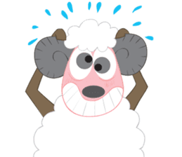 Suzy Sheep sticker #7103295