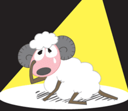 Suzy Sheep sticker #7103302