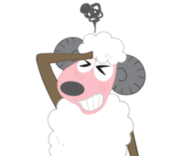 Suzy Sheep sticker #7103317