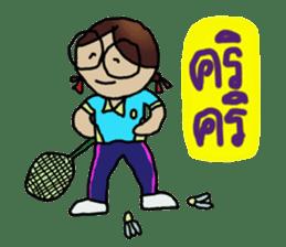 Angie , a little school girl. sticker #7108894