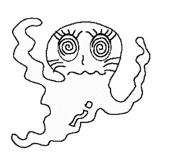 What ghost sticker #7109678