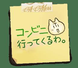 Osaka dialect memo pad.(ver.1) sticker #7110075