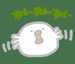 Peaceful life of Beanie sticker #7111619