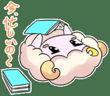 Selfish Sheeps sticker #7112624
