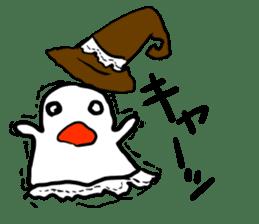 magical ghost! sticker #7113090