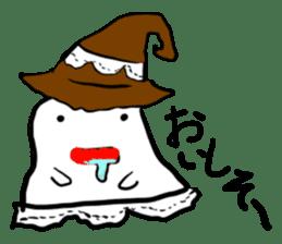 magical ghost! sticker #7113091