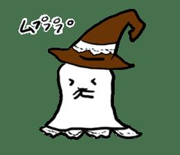 magical ghost! sticker #7113098