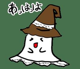 magical ghost! sticker #7113099