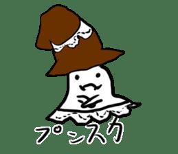 magical ghost! sticker #7113101