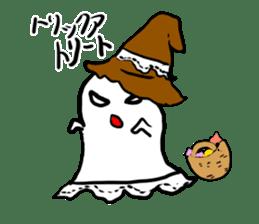 magical ghost! sticker #7113102