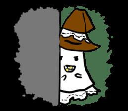 magical ghost! sticker #7113103