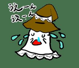magical ghost! sticker #7113107