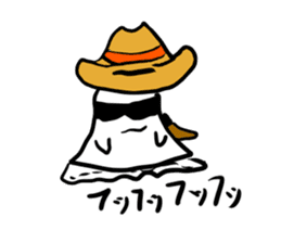 magical ghost! sticker #7113117
