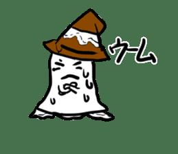 magical ghost! sticker #7113119