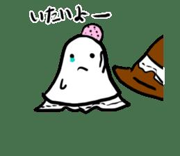 magical ghost! sticker #7113120